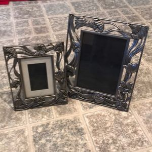 Metal Picture Frames Set of 2